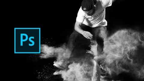 Free Photoshop Retouching Tutorial – Photoshop Sport Image Retouching – Skater Guy